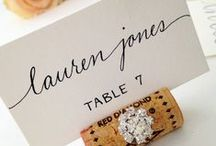 Escort Cards & Place Cards / Escort card ideas along with escort card table ideas and place card ideas for every wedding style.