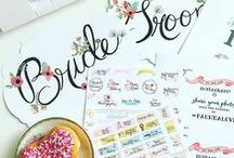 Freebies & Free Printables / Free to Print wedding invites, free printable save the dates, free printable wedding menus, free printable place cards, free printable wedding signs / by wedding chicks