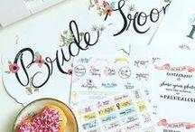 Freebies & Free Printables / Free to Print wedding invites, free printable save the dates, free printable wedding menus, free printable place cards, free printable wedding signs