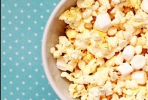 Sweet Popcorn and Snacks / by Cupcake Diaries (Food and Recipes)