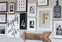 Displaying memories, photos, walls / by Rachel & Riley
