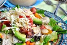 Salads and Dressings / by Cupcake Diaries (Food and Recipes)