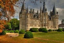 Castles Built Long Ago / Love the thought of living in a beautiful castle like we read about in a fairytale........ / by Linda Sue