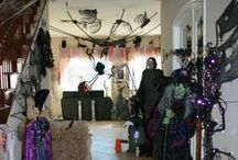 I heart Halloween / Halloween decorations and more!! / by Michelle Hinkle-Johnston
