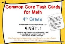 Math Number Sense / Number sense and reasoning, common core state standards, grades 2, 3, 4, 5