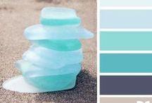 Beach Themed Bathroom Ideas / Inspiration for a beach themed bathroom. Beach bathrooms & Nautical Bathroom ideas.