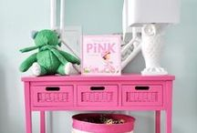 Girls Bedroom Inspiration / Ideas for decorating a girl's bedroom