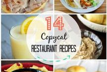 Copycat Restaurant Recipes / by Cupcake Diaries (Food and Recipes)