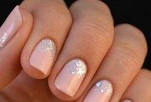 Nails / wedding nails, nail polish, nail ideas, nail designs, nail art.