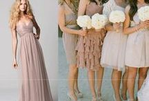Amy's Bridesmaid Dresses - Blush & Champagne