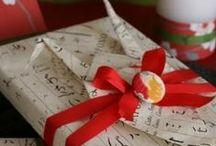 Japanese Style Gift-Wrap / by Wakana NAKAO