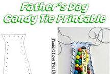 Father's Day / Father's Day Gift Ideas - Father's Day Crafts- Father's Day Food - Father's Day Poems