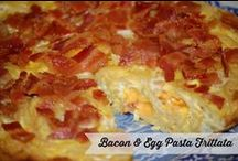 Bacon Recipes / Everything Bacon - If it's got bacon and looks delicious (how can it not) - Bacon food stuffs to satisfy my bacon tooth.