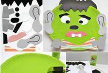 Halloween Kids Crafts / Halloween Crafts For Kids