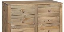 Hacienda Bedroom Collection / Hacienda Waxed Pine 4 Drawer Chest, The Core Hacienda Pine has a waxed finish that not only protects the drawer unit but enhances the look of the pine woods natural grain. For solidness and a testament to their quality dovetail joints have been used on all of the drawers.  https://www.bcnfurniture.co.uk/product-category/bedroom-furniture/ranges/hacienda-bedroom-furniture/