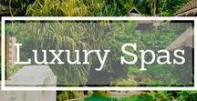 Luxury Spas / Reviews and information on Luxury Spas around the world #spa #luxurytravel