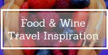 Food & Wine Travel Inspiration & Guides / Do you love to eat and drink wine and great coffee when you travel? Well then this board is for you! It covers everything from wineries to wine bars to cooking classes to top restaurants to street food to cafes to cocktails! Don't look at when hungry or thirsty!