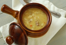 recipes | soups, stews / Soups and stews to warm you up year round!  / by Barefeet In The Kitchen