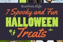 Halloween Treats / Boo! ~ http://www.savingsmania.com/ / by SavingsMania- Diane Schmidt