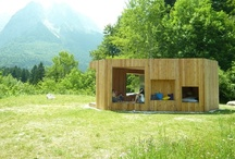 small living / Cabins, tree houses, yurts, ...Or pins that are interesting because of their use of space. / by happyhome