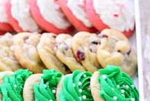 Christmas Baking + Candy / Cookies, candy, brownies, more~ sweets for the season.