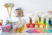 Petites Inspirations pour une Rainbow-Party / by @lly02 Le Blog