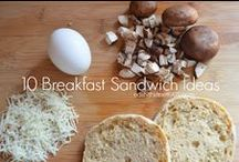 Breakfast for Champions / Breakfast ideas for the non-breakfast eaters.