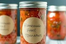 recipes | canning, preserving, dehydrating / tips, ideas, tutorials and more - helping you make the most of the season's harvest! / by Barefeet In The Kitchen