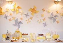 Petites Inspirations pour une Yellow and Grey Party / by @lly02 Le Blog