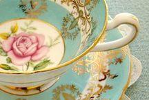 { vintage teacups }
