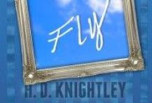 Fly, by H.D. Knightley / Fly is about Amelia, a punk rock princess who has no gravity. She flies, floats, flips and careens and cares about nothing at all. Hank is a young man from the drought-stricken basin of the kingdom. The King has privatized the water and the villagers are thirsty. Can Hank convince the Princess to care? based on The Light Princess, by George MacDonald.
