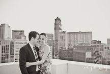 Detroit Engagement Pictures / Engagement pictures in the great city of Detroit by Meg Darket Photography