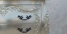 French Silver Furniture / French silver furniture allows you to add a touch of French glamour to your home!