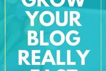 BLOGGING: BLOG TRAFFIC / Tips on how to promote your blog and increase your blog's traffic.