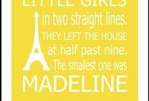 Madeline / Ideas for Susannah's baby girl