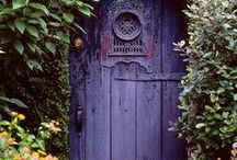 Closed Doors  / If a door closes, your house is haunted.