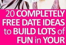 RELATIONSHIPS: DATE IDEAS / Pins about date ideas that are fun, cheap, and bring you and your partner closer.