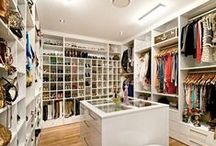 Closet Storage & Organisation / Ideas for how to organise my walk in robe.