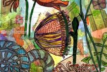 Mixed Media Art Love & Inspiration / Pin ALL Mixed Media Art You Love - Leave an Inspiration on Us to Create!  Love Art Texture, Tutorials & Resources, Journaling, Stitching, Paper Crafting, Collage, Canvas, Cards- Whether it's from the streets, in a shop, in your room or in the mail!  DO NOT PIN vulgar, violent or indecent obscenities ON THIS BOARD. To turn off email, click to edit notifications from the PIN on this board.  Please invite all Mixed Media Art Lovers! - Please follow - https://www.pinterest.com/MorningDewdrop1 / by MorningDewdrops|TerriStephens