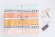 ✿ Gift wrapping / Wrap your gift, make it a beautiful package.. / by Angela Rapisarda