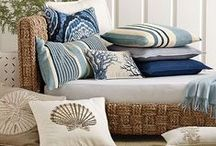 Hatteras Beach House  / Decor items that are influenced by the colors of the ocean, sand, and sky.  / by Hatteras Realty