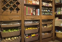 Kitchen & Pantry Storage / Ideas for how to organise my pantry.