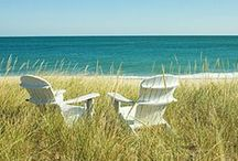 Outdoor Living at the Beach / Outdoor porches, patios and living spaces inspired by the beach.  / by Hatteras Realty