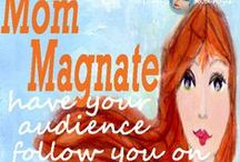 MomMagnate Extraordinaire for Mom Entrepreneurs / Creative Artful Content (tm) Business, blogs, Moms, Target Audience, Services, Niche Market, Social networks, target market,