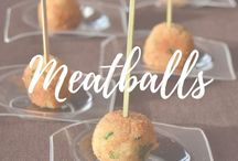 Meatballs / Delicious spheres made of meat, fish, vegetables,other ingredients or a mix of them. Everything about meatballs around the world!! :)