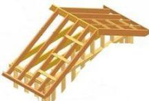 Roof Construction / How to build and construct a roof or house extensions.