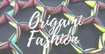 Origami Fashion / From the traditional origami art to its trasposition into bags and fashion as a whole
