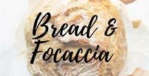 Bread & Focaccia / Breads and Focaccia of different taste, ingredients and shape. A wonderful and yummy world!!