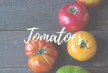 Tomatoes / Colors, shapes and recipies
