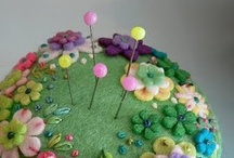 pincushions / by Bronwyn Hayes designer for Red Brolly